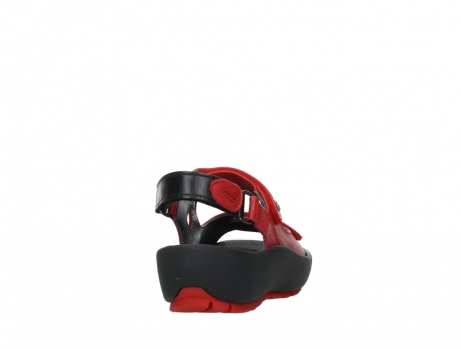 wolky sandalen 03325 rio 20500 rood leer_20