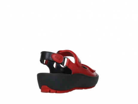 wolky sandalen 03325 rio 20500 rood leer_21