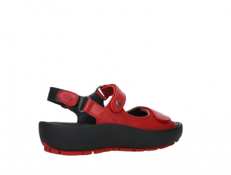 wolky sandalen 03325 rio 20500 rood leer_23