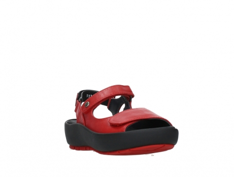 wolky sandalen 03325 rio 20500 rood leer_5