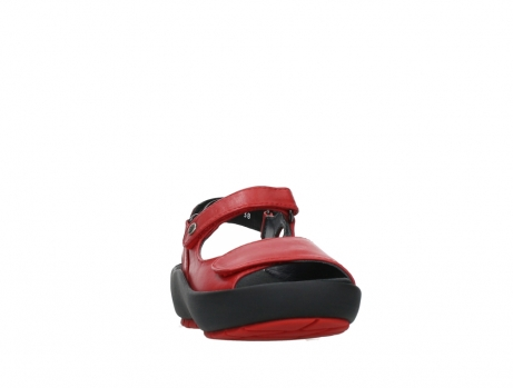 wolky sandalen 03325 rio 20500 rood leer_6