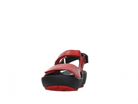 wolky sandalen 03325 rio 20500 rood leer_8