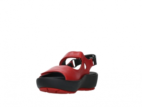 wolky sandalen 03325 rio 20500 rood leer_9