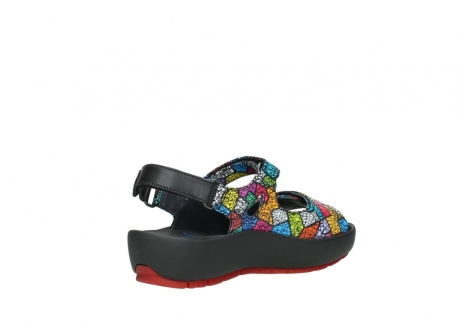 wolky sandales 03325 rio 40992 suede picasso multi_10