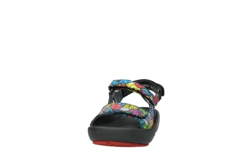 wolky sandales 03325 rio 40992 suede picasso multi_20