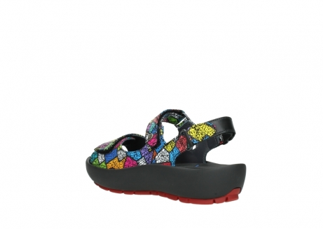 wolky sandales 03325 rio 40992 suede picasso multi_4