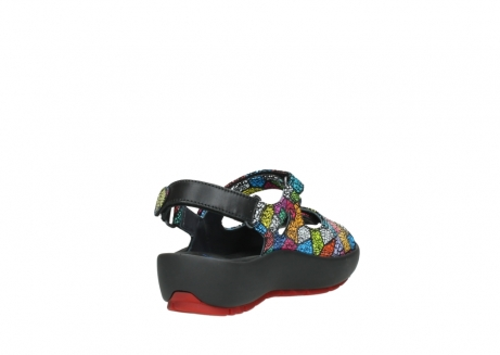 wolky sandales 03325 rio 40992 suede picasso multi_9