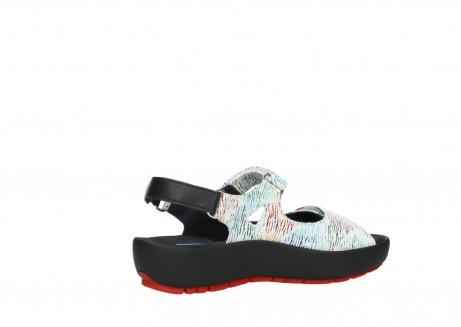 wolky sandalen 03325 rio 70980 white multi color canal leather_11