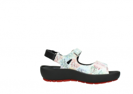 wolky sandalen 03325 rio 70980 white multi color canal leather_14