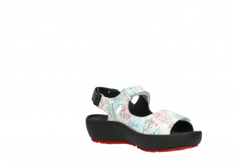 wolky sandalen 03325 rio 70980 white multi color canal leather_16