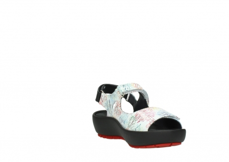 wolky sandalen 03325 rio 70980 white multi color canal leather_17
