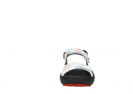 wolky sandalen 03325 rio 70980 white multi color canal leather_19