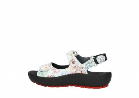 wolky sandalen 03325 rio 70980 white multi color canal leather_2