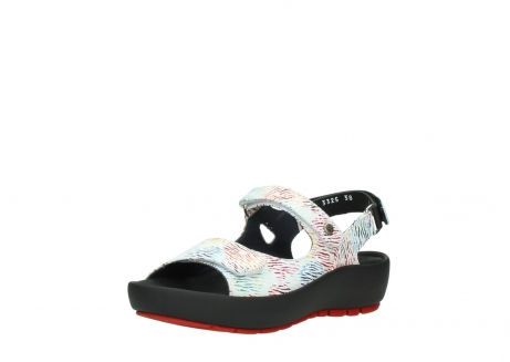 wolky sandalen 03325 rio 70980 white multi color canal leather_22