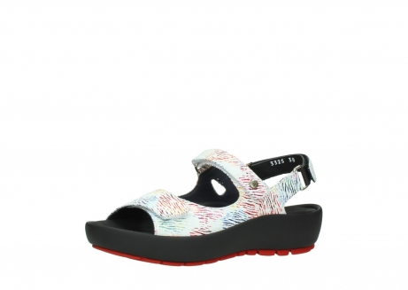 wolky sandalen 03325 rio 70980 white multi color canal leather_23