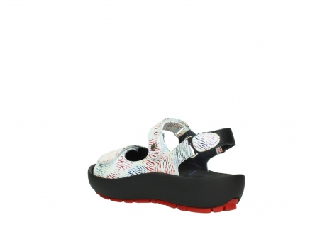 wolky sandalen 03325 rio 70980 white multi color canal leather_4