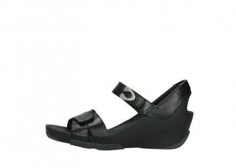 wolky sandalen 03775 epoch 30000 black leather_1