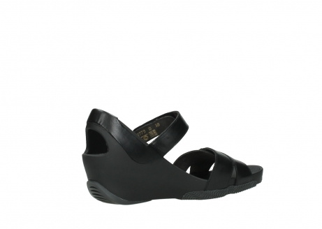 wolky sandalen 03775 epoch 30000 black leather_11
