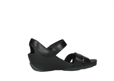 wolky sandalen 03775 epoch 30000 black leather_12