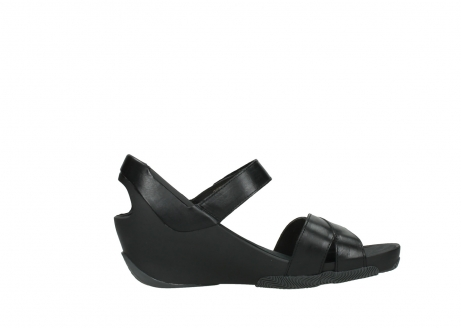 wolky sandalen 03775 epoch 30000 black leather_13