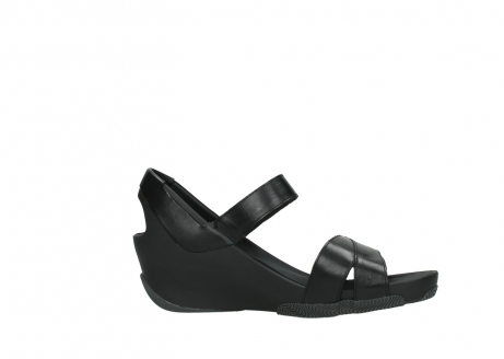 wolky sandalen 03775 epoch 30000 black leather_14