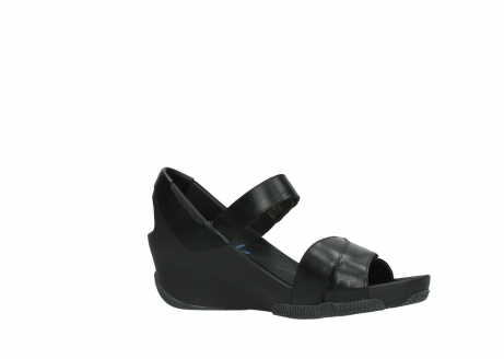wolky sandalen 03775 epoch 30000 black leather_15