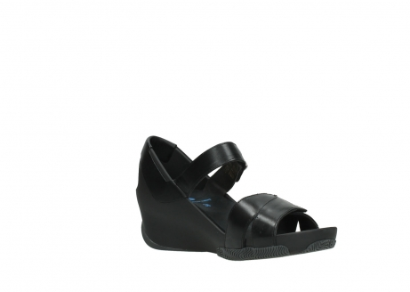 wolky sandalen 03775 epoch 30000 black leather_16