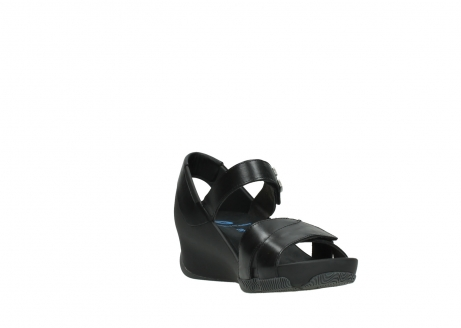 wolky sandalen 03775 epoch 30000 black leather_17