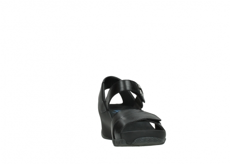 wolky sandalen 03775 epoch 30000 black leather_18