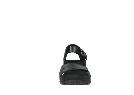 wolky sandalen 03775 epoch 30000 black leather_19