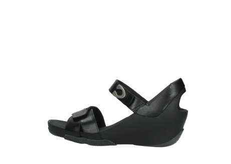 wolky sandalen 03775 epoch 30000 black leather_2