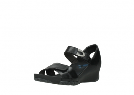 wolky sandalen 03775 epoch 30000 black leather_22
