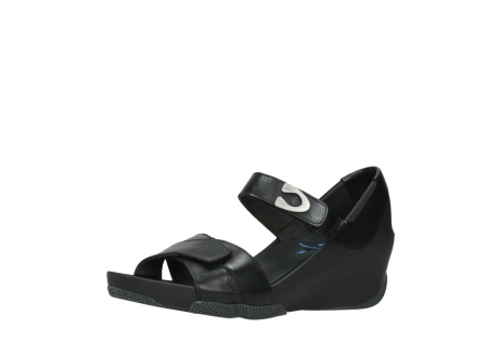 wolky sandalen 03775 epoch 30000 black leather_23