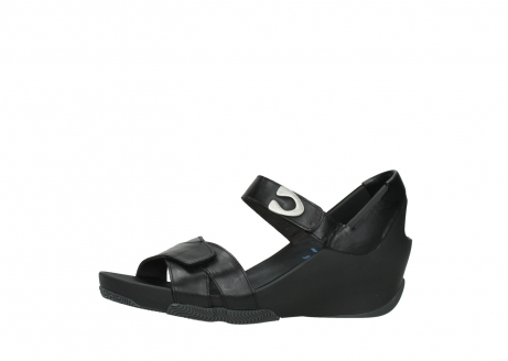 wolky sandalen 03775 epoch 30000 black leather_24