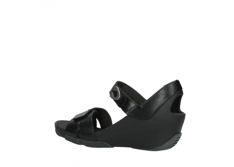 wolky sandalen 03775 epoch 30000 black leather_3
