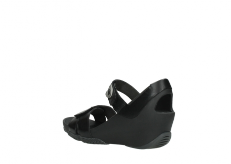 wolky sandalen 03775 epoch 30000 black leather_4