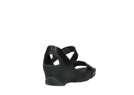 wolky sandalen 03775 epoch 30000 black leather_9