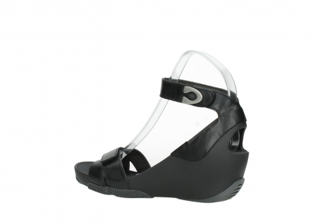wolky sandalen 03776 era 30000 black leather_3