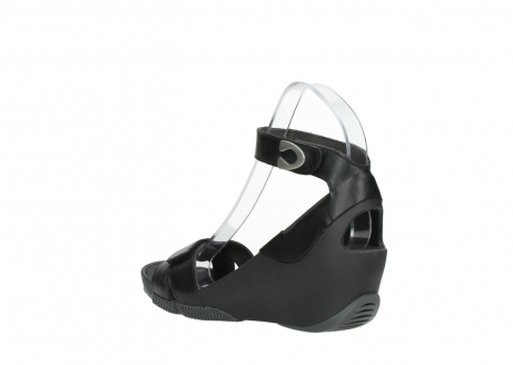 wolky sandalen 03776 era 30000 black leather_4