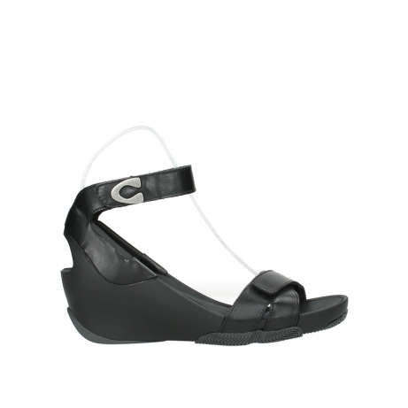 wolky sandalen 03776 era 30000 black leather