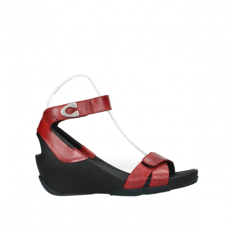 wolky sandalen 03776 era 30500 red leather