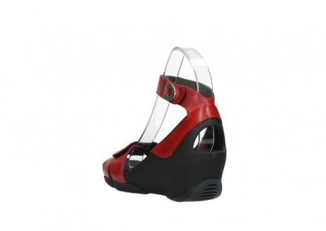 wolky sandalen 03776 era 30500 red leather_5