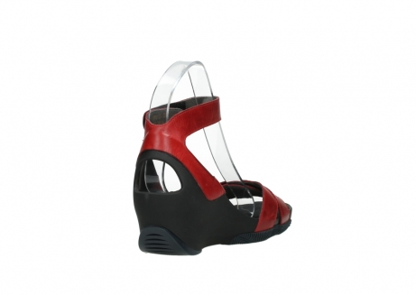 wolky sandalen 03776 era 30500 red leather_9