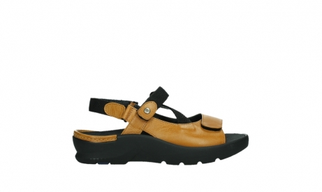 wolky sandalen 03925 lisse 35920 ocher yellow leather_1