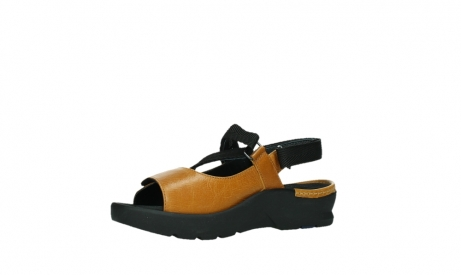 wolky sandalen 03925 lisse 35920 ocher yellow leather_11