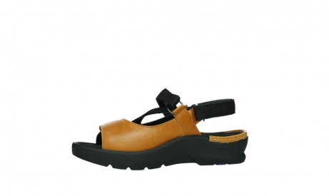 wolky sandalen 03925 lisse 35920 ocher yellow leather_12