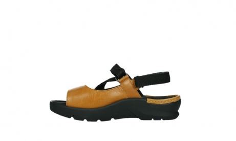 wolky sandalen 03925 lisse 35920 ocher yellow leather_13