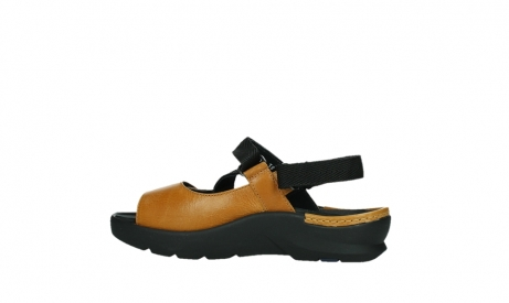 wolky sandalen 03925 lisse 35920 ocher yellow leather_14