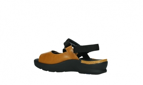 wolky sandalen 03925 lisse 35920 ocher yellow leather_15