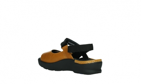 wolky sandalen 03925 lisse 35920 ocher yellow leather_16